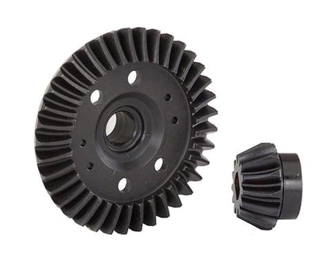 Traxxas Rear Machined Ring & Pinion Gear (Spiral Cut)