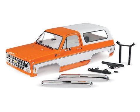 Traxxas 1979 Chevrolet Blazer Complete Body (Orange)