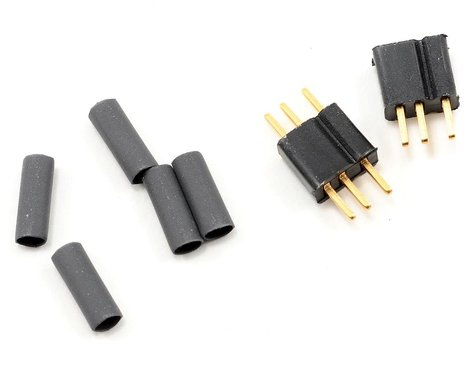Deans Micro 3 Pin Connector Plugs (1 pair)