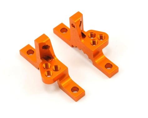 Xray Aluminum Upper Clamp w/Adjustable Roll Center (Orange) (2)