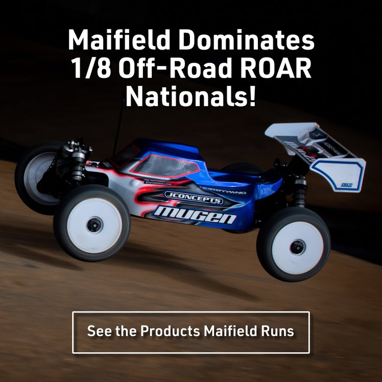 Maifield Dominates 1/8 Off-Road ROAR Nationals!