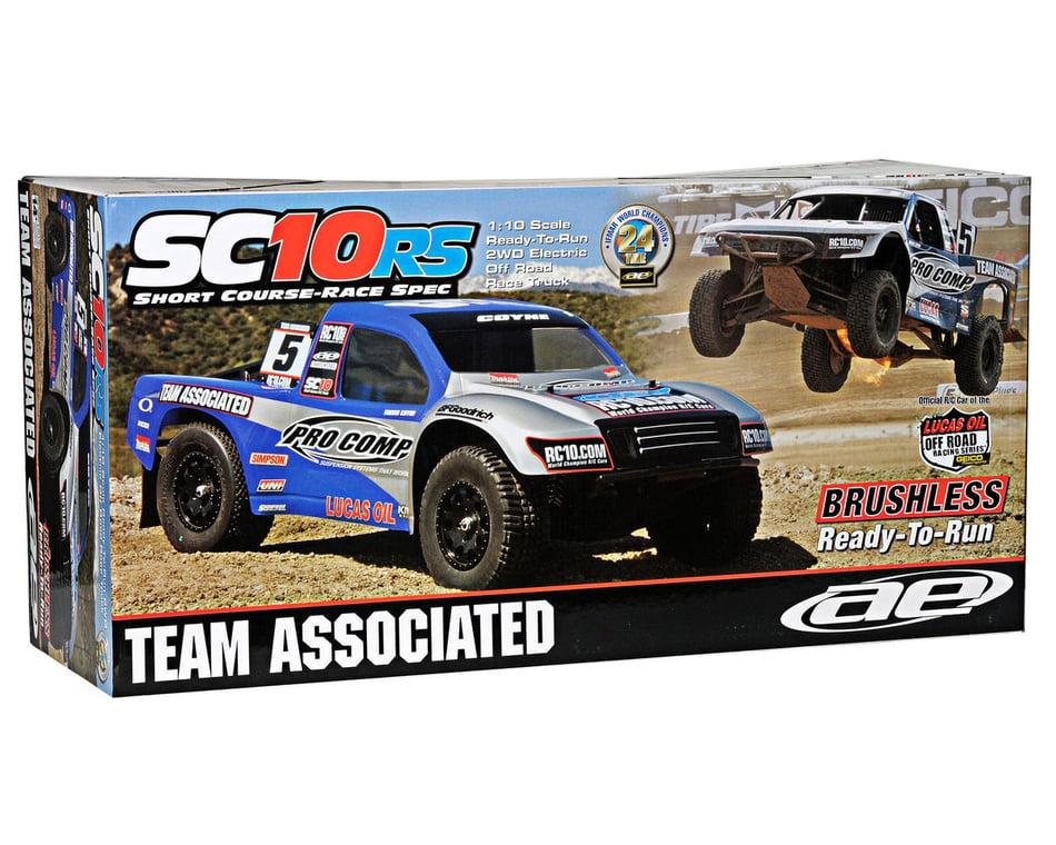 Team Associated Sc10rs Race Spec Truck 1//10 Elec Off-road Bearings Rolling
