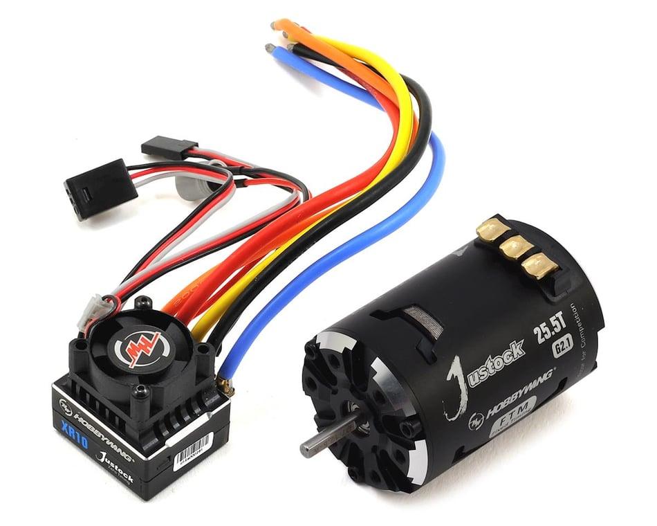 New HobbyWing Justock G2 10.5 Turn Brushless Motor HWI30408009 30408009
