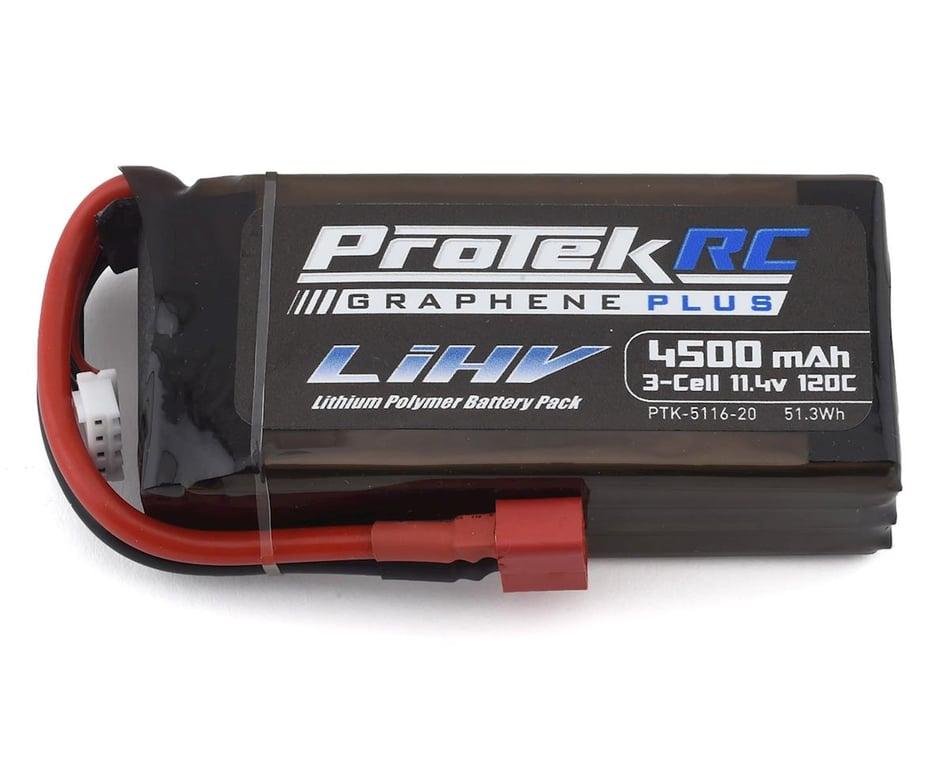 ProTek RC 3S 120C Low IR Si-Graphene + HV Shorty LiPo Battery (11.4V/4500mAh)