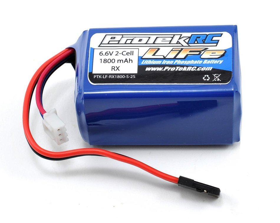 ProTek RC LiFe Kyosho & Tekno Hump Receiver Battery Pack (6.6V/1800mAh)